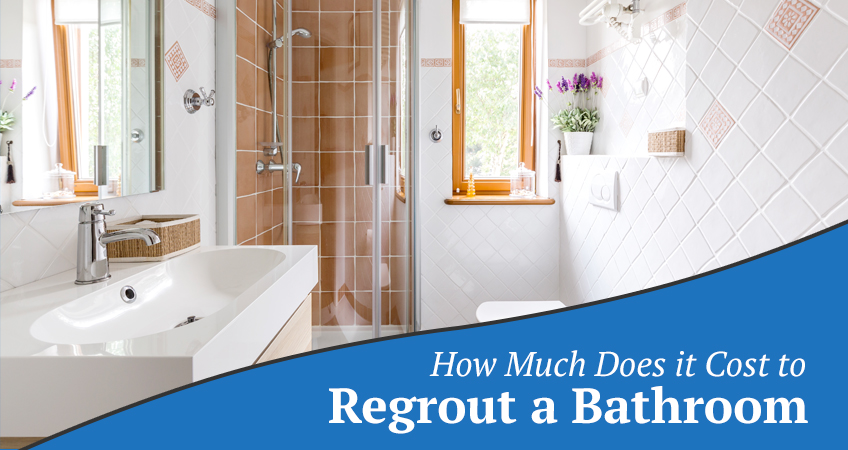 The Cost to Replace Grouting in a Bathroom