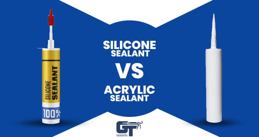 Silicone Sealant Vs Acrylic Sealant